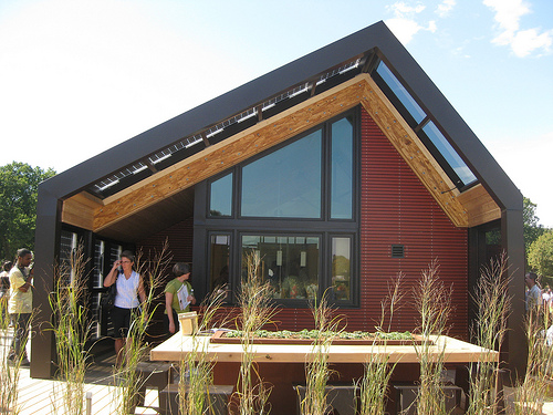 Green home building is a growing movement here in America.