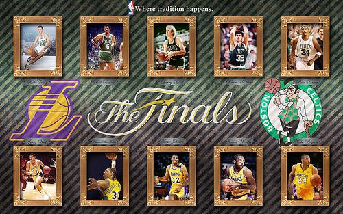 Los Angeles Lakers NBA Finals champions