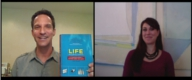 Author-Blogger-Life Coach Jenny Blake with Careers Out There host Marc Luber