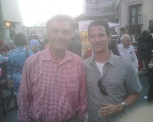 Marc Luber and Fred Willard