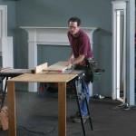 Veteran carpenter Gary Katz